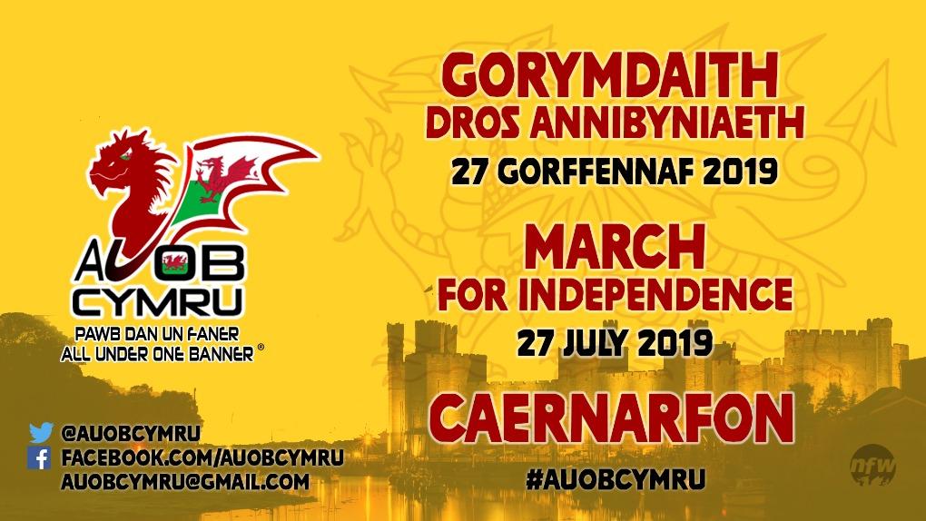 AUOB Caernarfon Gorymdaith