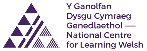 Canolfan Dysgu Cymraeg Genedlaethol logo