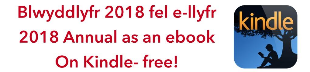 Blwyddlyfr 2018 Kindle