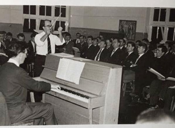 Côr Meibion Pontarddulais 1960au