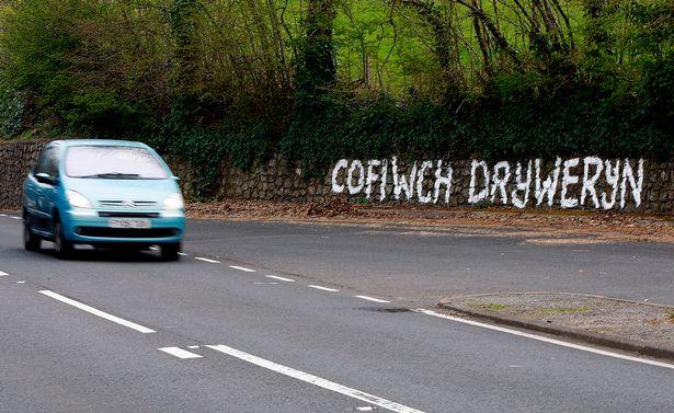 Cofiwch Dryweryn Llangollen
