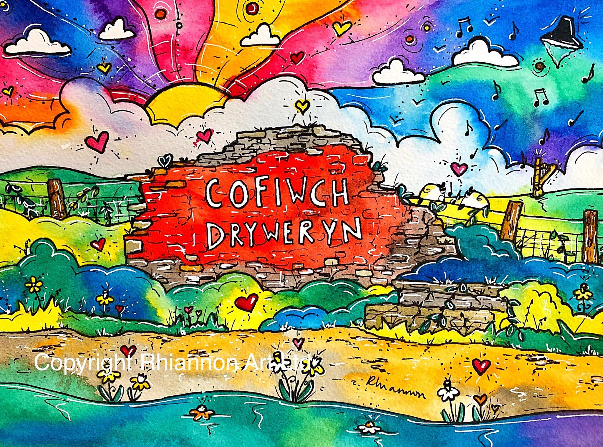 Cofiwch Dryweryn- Rhiannon Art