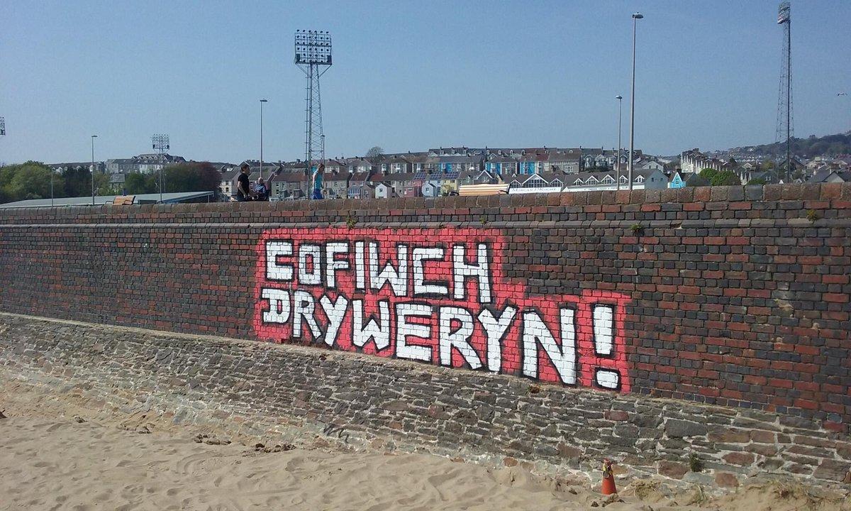Cofiwch Dryweryn Traeth Abertawe