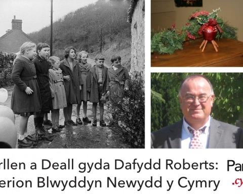 Dafydd Roberts Arferion Blwyddyn Newydd y Cymry