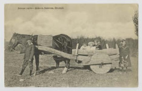 Dafydd Roberts Patagonia Cerdyn Post 1866