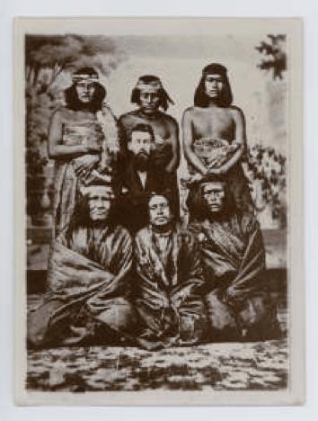 Dafydd Roberts Patagonia Llun 1867