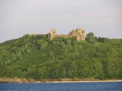 Dafydd Roberts Sir Gaerfyrddin Castell Llansteffan