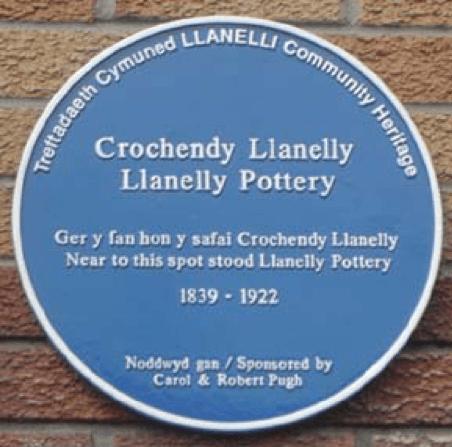 Dafydd Roberts Sir Gaerfyrddin Crochendy Llanelly