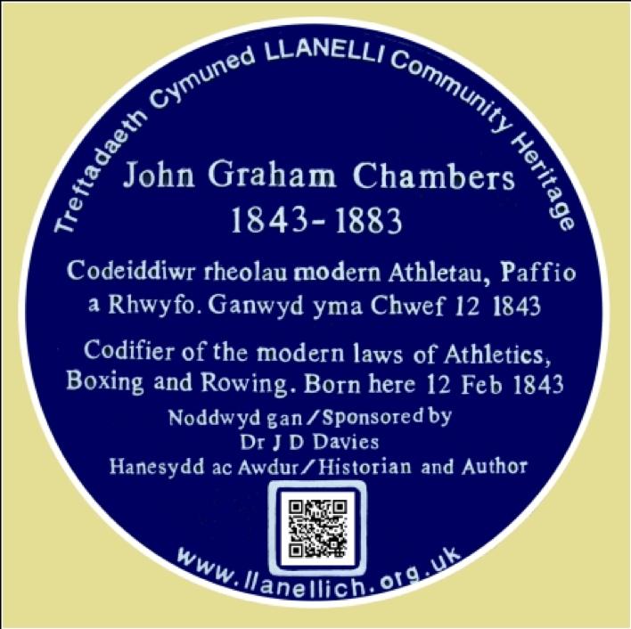 Dafydd Roberts Sir Gaerfyrddin John Graham Chambers
