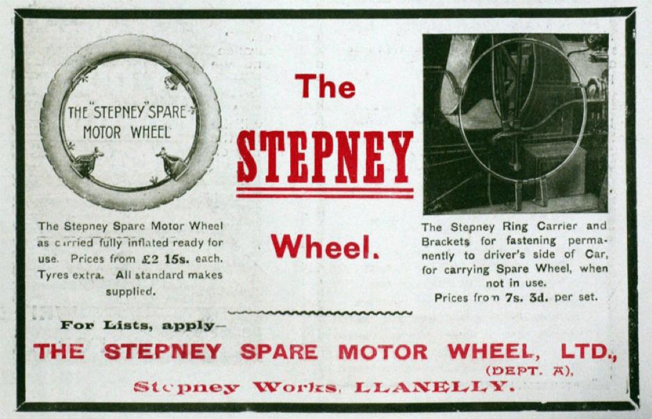 Dafydd Roberts Sir Gaerfyrddin Stepney Wheels 2