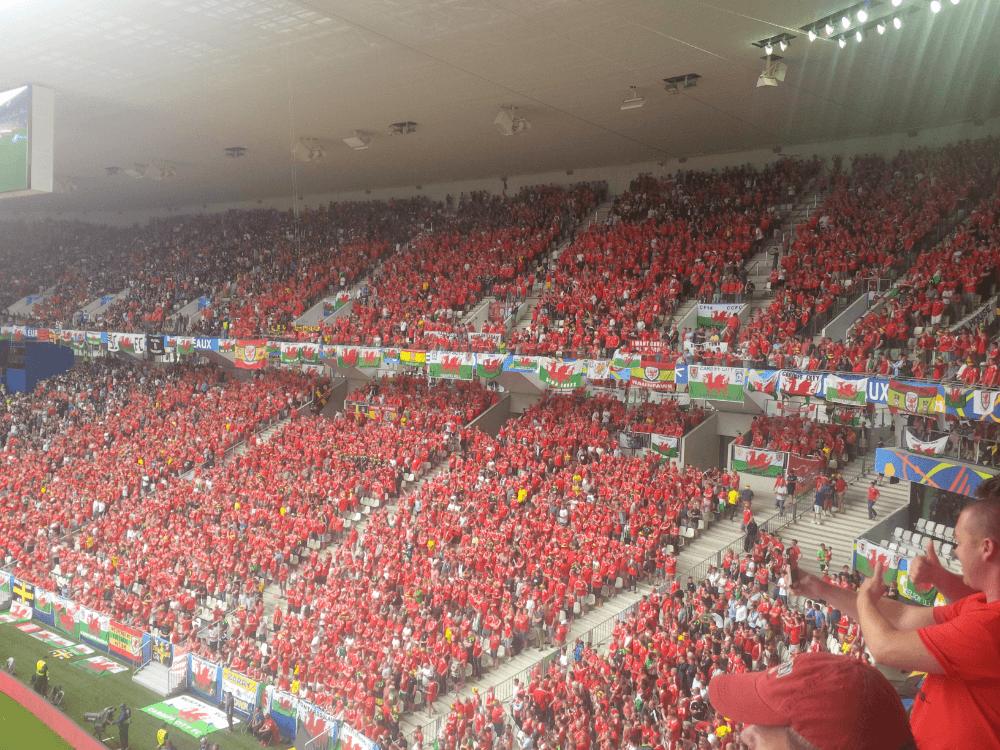Bordeaux crowd