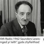 Darlith Radio 1962 Saunders Lewis- Tynged yr Iaith