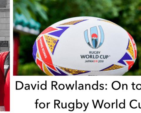 David Rowlands RWC 2019