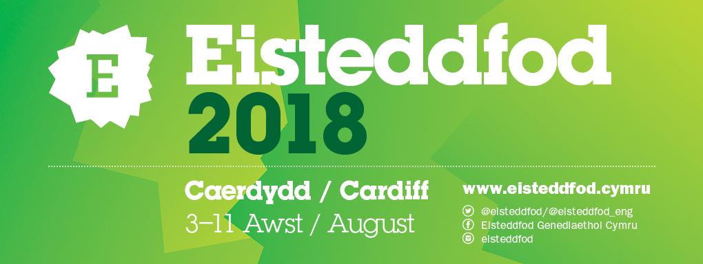 Eisteddfod 2018 logo