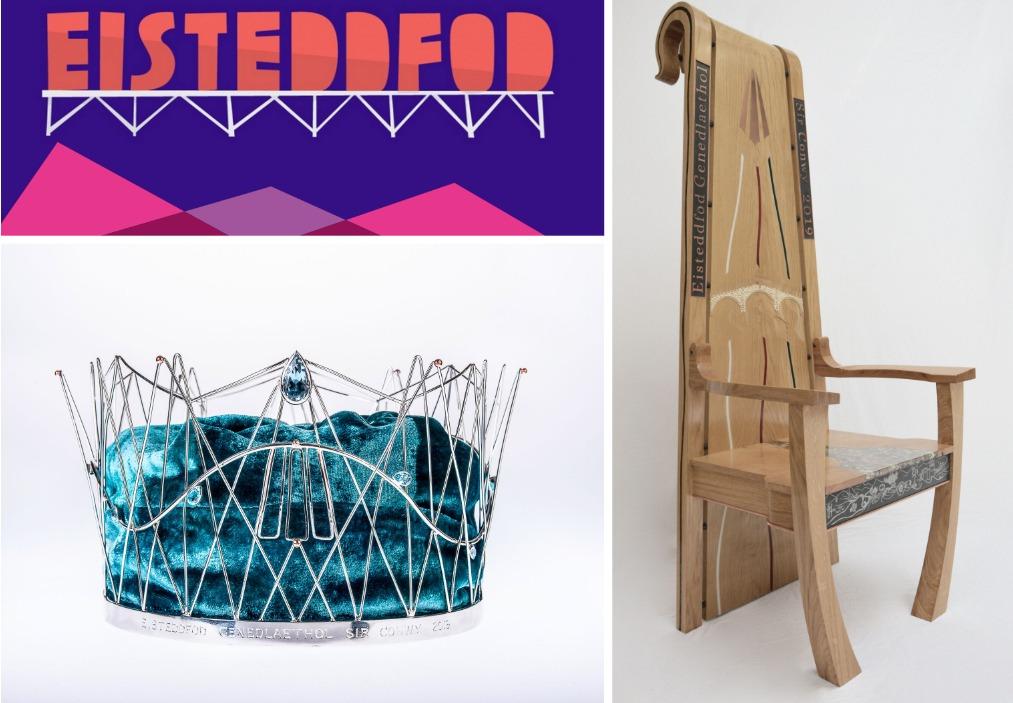 Eisteddfod 2019 Cadair + Coron