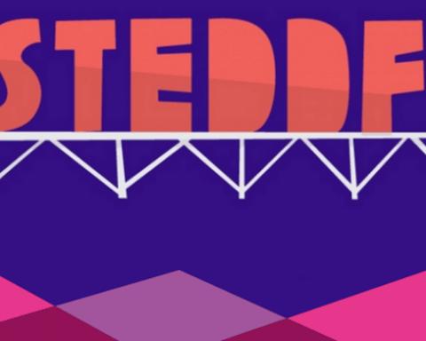 Eisteddfod Logo Purple