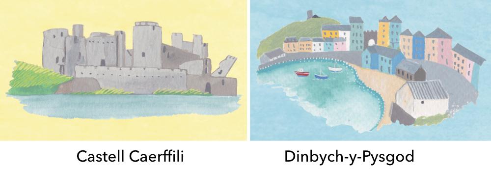 Elin Meek- Cymru Ar Y Map delweddau