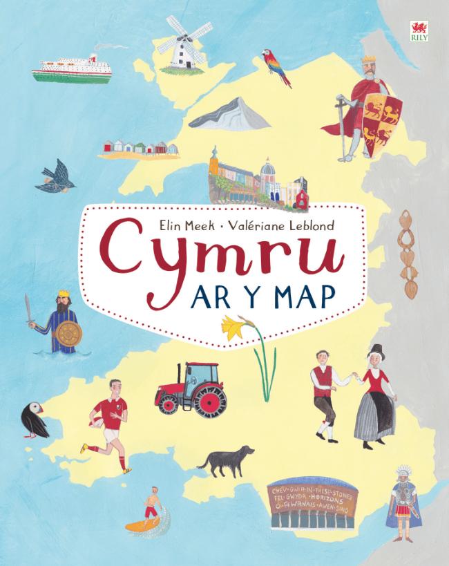 Elin Meek Valériane Leblond- Cymru Ar y Map