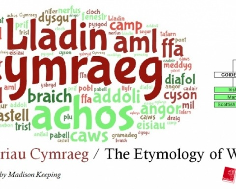 Etymoleg Prif ddelwedd
