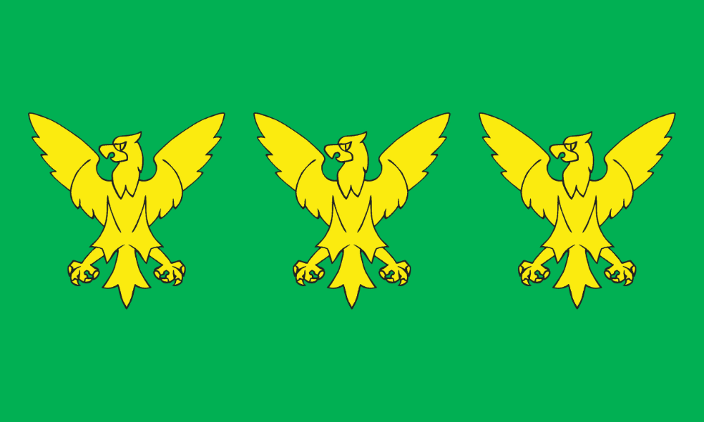 Flag of Caernarfonshire