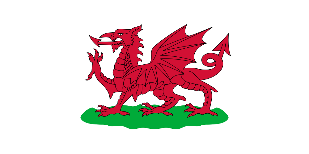 Flag of Wales (1807–1953)