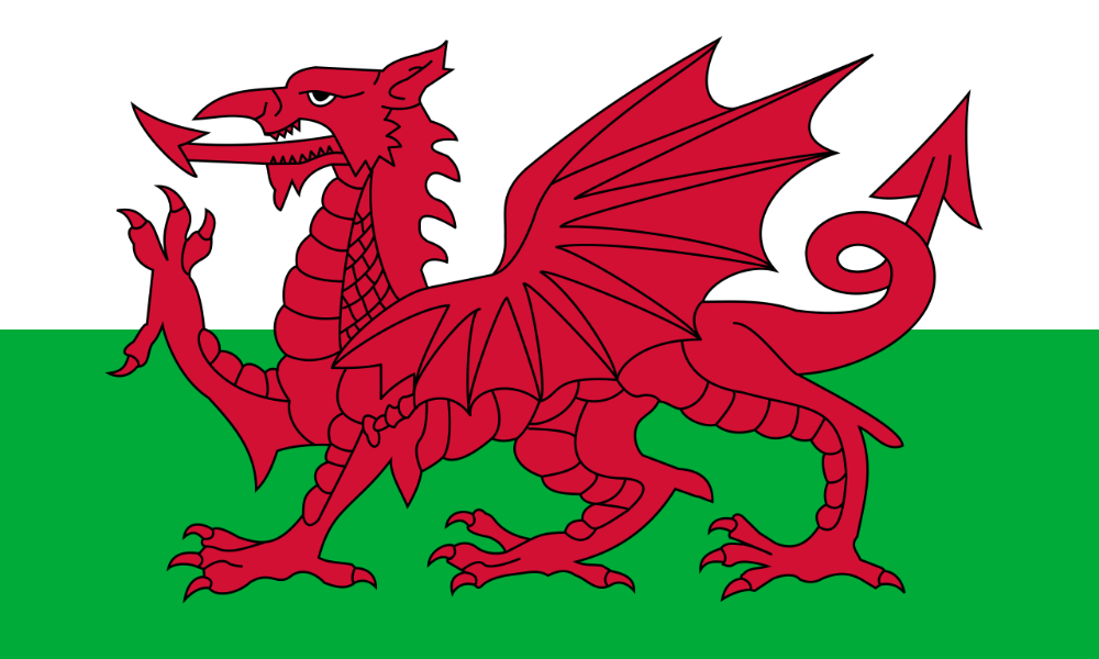 Flag of Wales (1959–present)