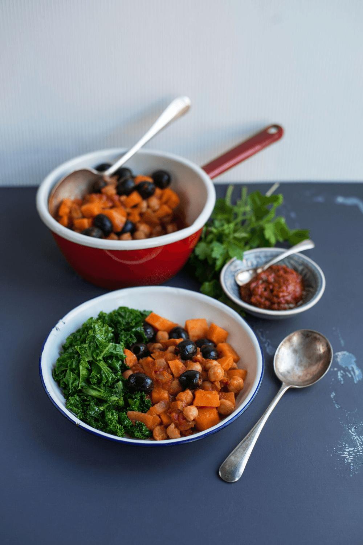 Harissa Sweet Potato Stew