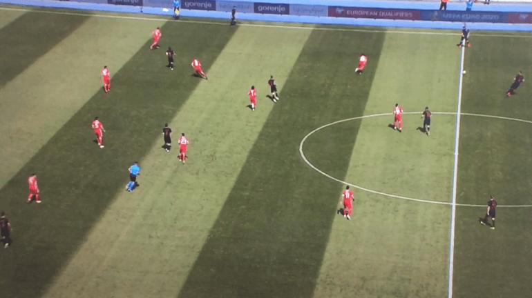 Luke Williams Croatia 2-1 Cymru