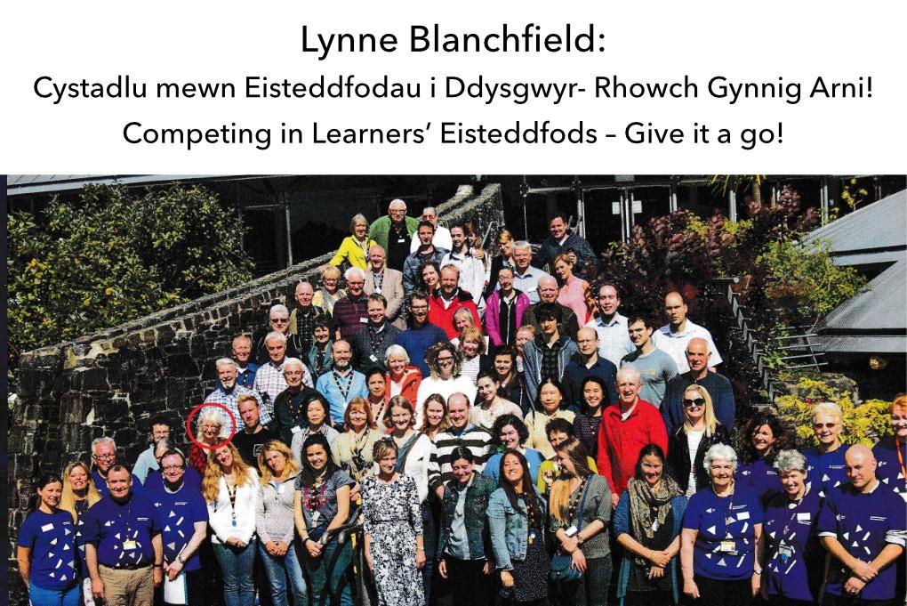 Lynne Blanchfield Eisteddfodau