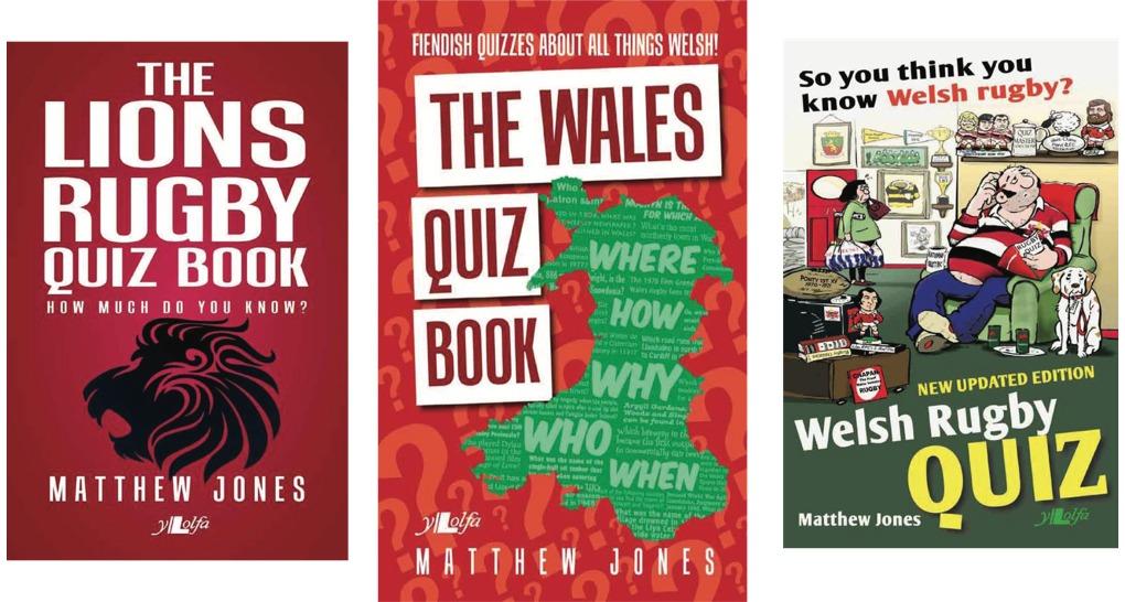 Matthew Jones Wales Quiz Book