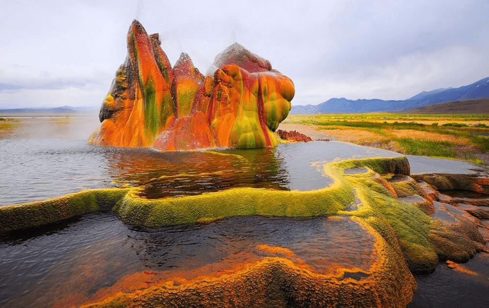 Strange landscape