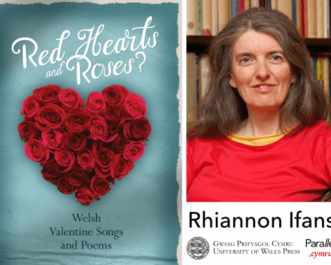Rhiannon Ifans Red Hearts and Roses
