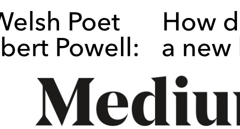 Robat Powell- Sut mae dysgu iaith Medium.com