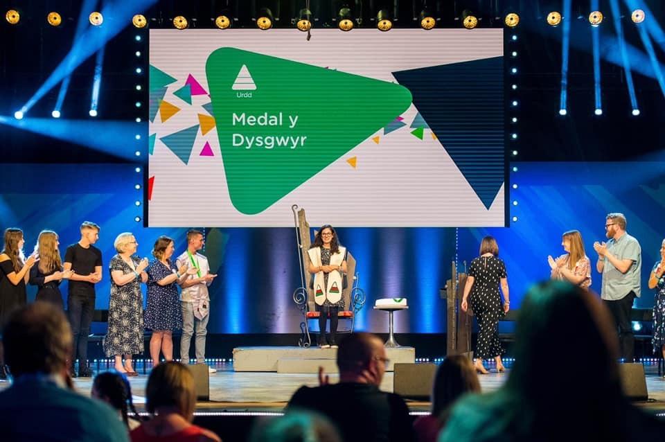 Seremoni Dysgwr y Flwyddyn yr Urdd, Caerdydd 2019