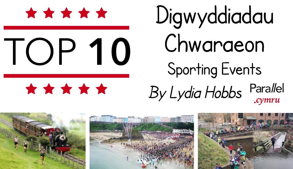 Top 10 Digwyddiadau Chwaraeon