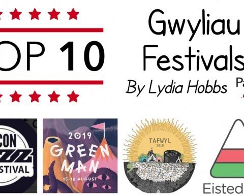 Top 10 Gwyliau