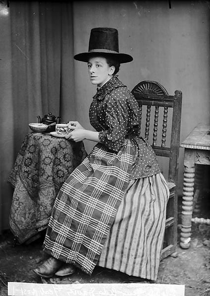 Welsh dress- Miss Ada Davies c1985
