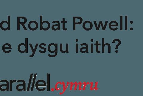 Y Prifardd Robat Powell- Sut mae dysgu iaith